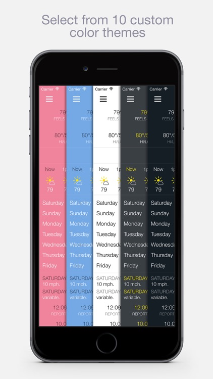 BeWeather 2 - Personal Weather for Phone & Watch