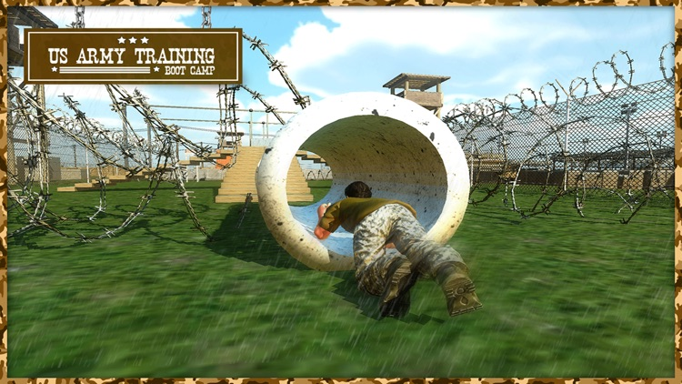US Army Training Game: Real Battle Field Boot Camp screenshot-4