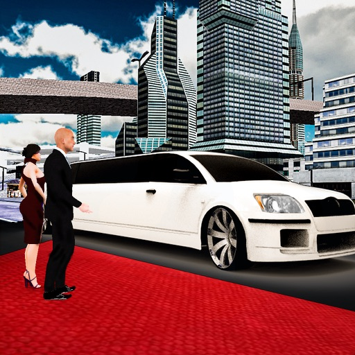 Лимузин городской езды транспортный симулятор 3D