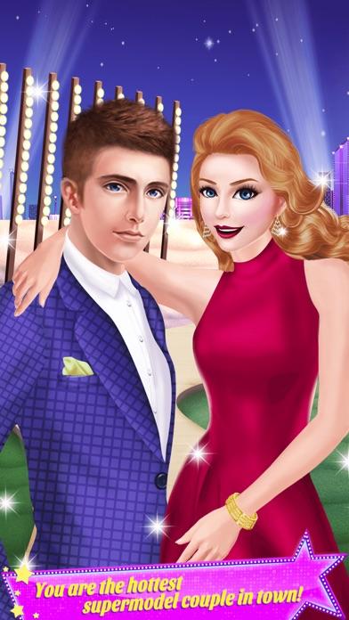 Supermodel Couple - Fashion Show Beauty Salon Spa Screenshot on iOS