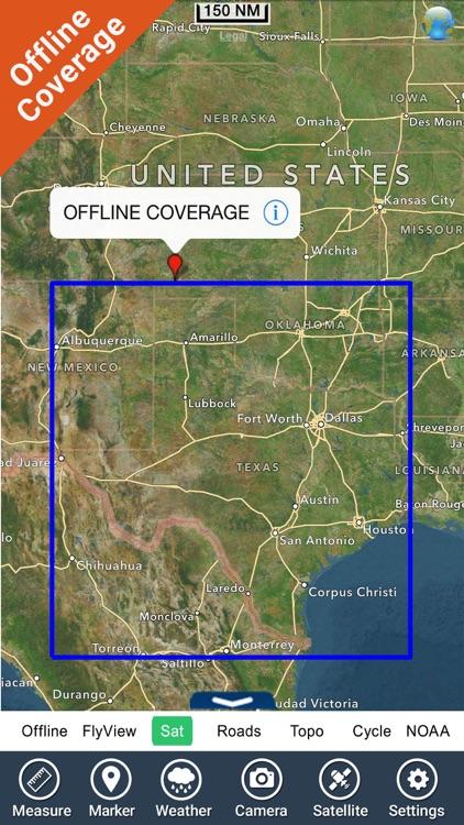 Lakes Texas GPS fishing charts screenshot-4