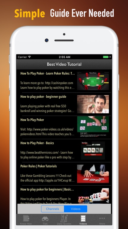 How to Play Poker Guide-Strategy and Tutorial screenshot-1