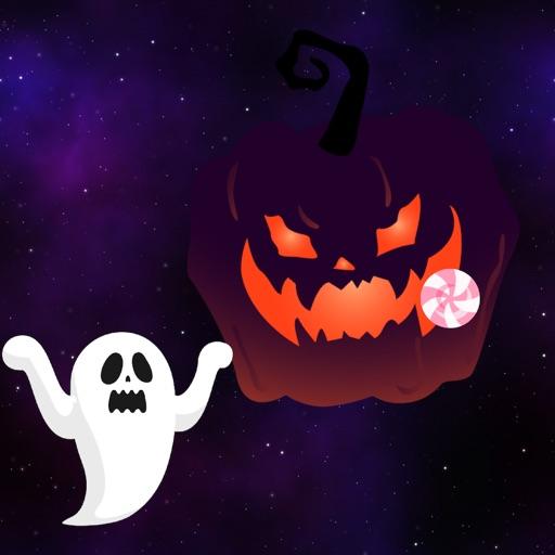 ジャンプ して キャンディいっぱいとっちゃう !!! - Three Little Pumpkins