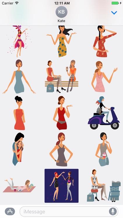 My Girls Stickers screenshot-4