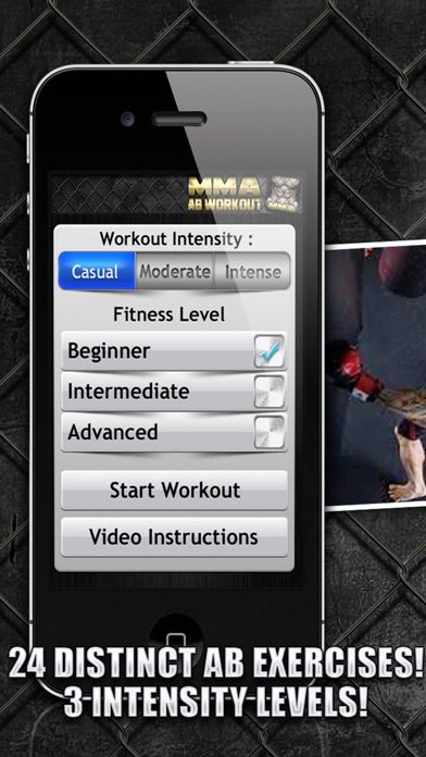 Ab Workouts MMA+ FREE Core Strength Abdominal Flex screenshot four