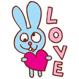 Lovely Rabbit Stickers Vol 01