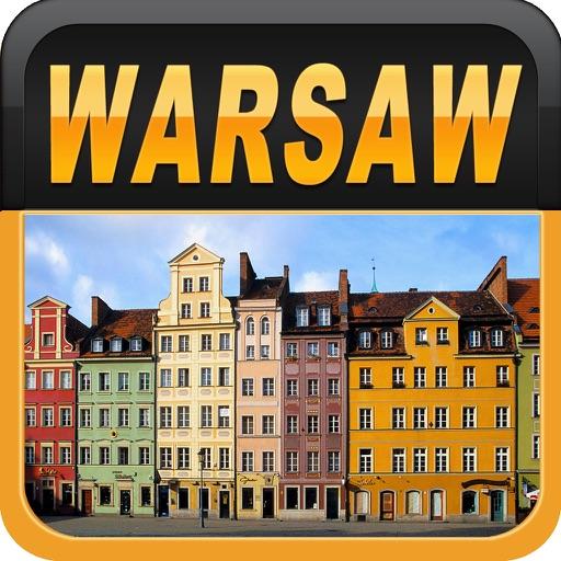 Warsaw Offline Map Travel Guide