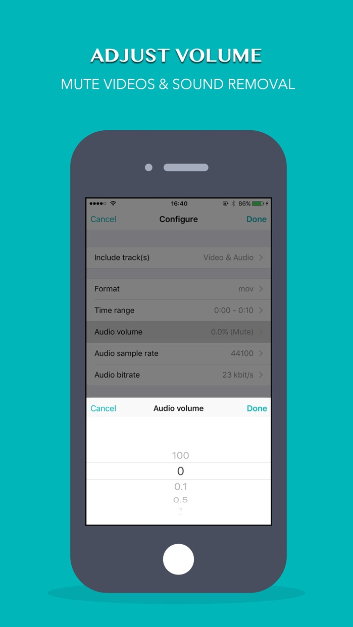 Volume Booster & Amplifier & Eraser & Equalizer Screenshot