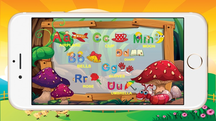ABCD Alphabet Phonic Tracing Flashcards Toddlers screenshot-3