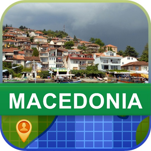 Offline Macedonia Map - World Offline Maps