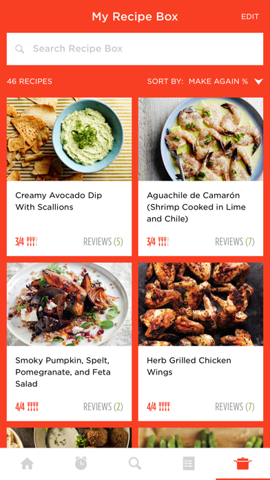 Screenshot 0 for Epicurious's iPhone app'