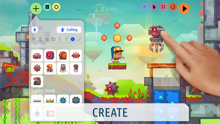 Craft your games! - Createrria 2 screenshot-0