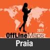 Praia mapa offline y guía de viaje