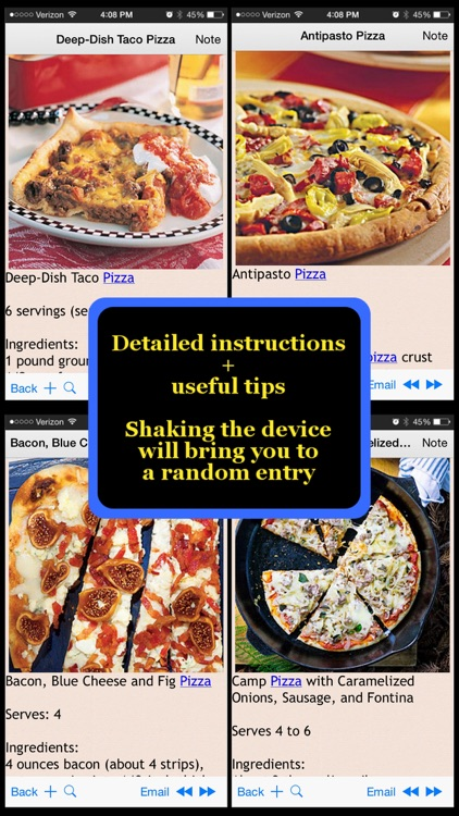 Pizza Recipes Plus+