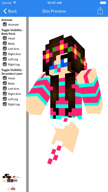 New Baby Skins and Aphmau Skins For Minecraft PE