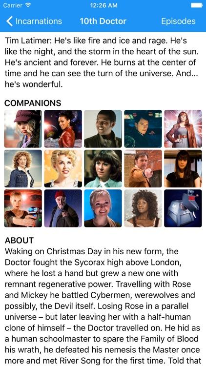 Whoniverse — A guide for Doctor Who screenshot-4