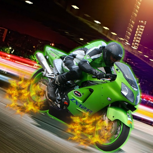 Extreme Mania Bikes In Traffic - Game Powerful Bike Race icon