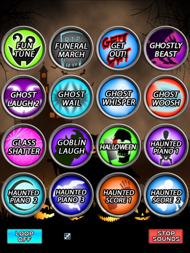 Halloween Spooky Sound Box! on the App Store