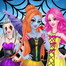 Monster Girl Dress up Party Makeover Salon Makeup