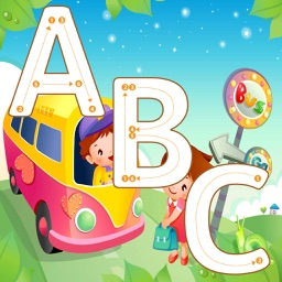 ABC Tracing Letters Cursive Handwriting Practice