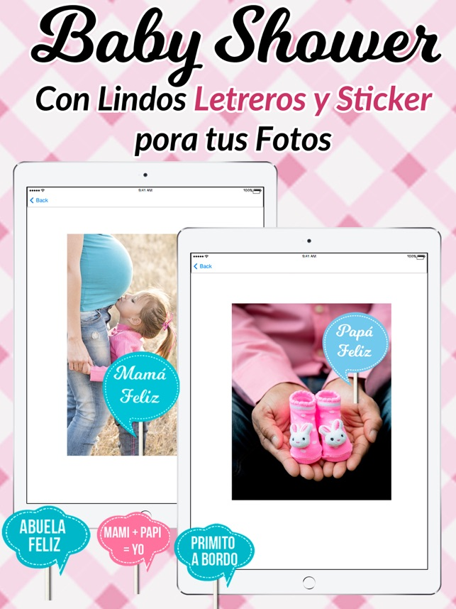 Marcos de Baby Shower on the App Store