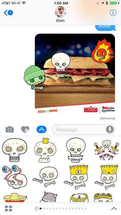 Skulls! The DoodleBomb Collection screenshot-4