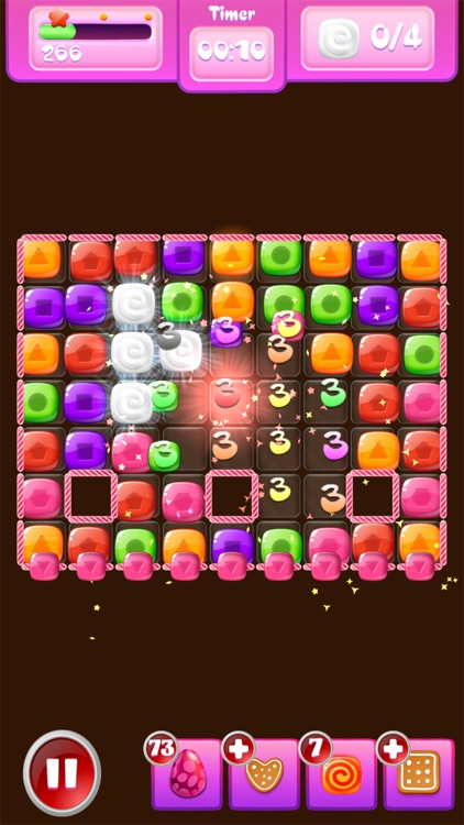 Mega Candy: A Match-3 game screenshot-3