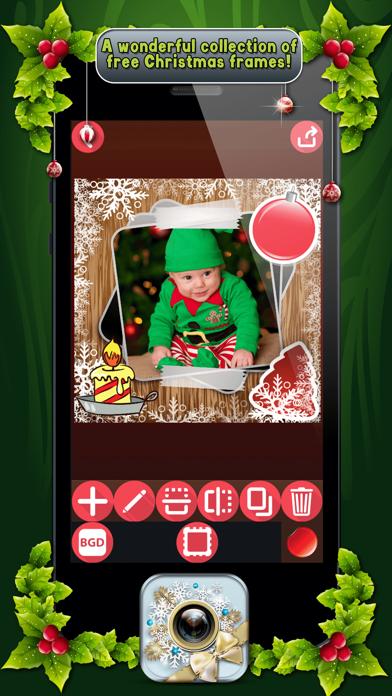 download Marcos de Fotos de Navidad con Pegatinas Navideñas apps 4