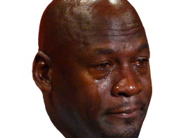 23 Tears - The Crying Jordan iMessage Sticker Pack