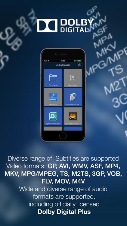 MCPlayer Pro wireless UPnP video player for iPhone, stream movies on HD TV screenshot-3