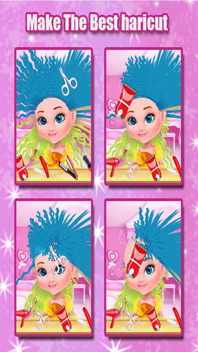 Little Princess Hair Salon - Make Your Own Hair Style For Kids screenshot one