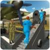 軍の囚人輸送機 - 警察バスドライバ