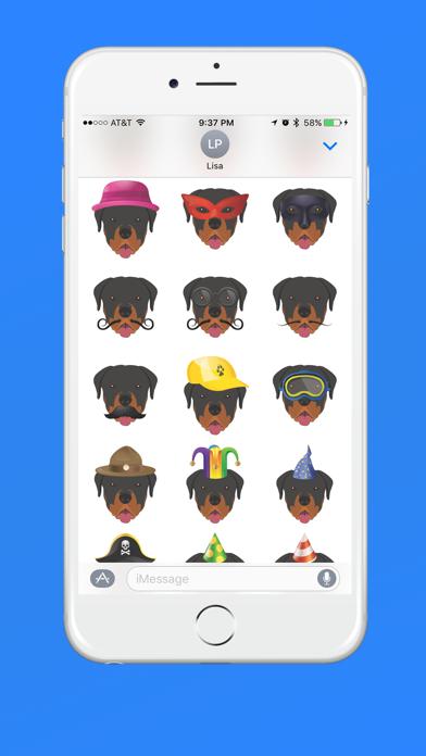Rottweiler Emoji screenshot three