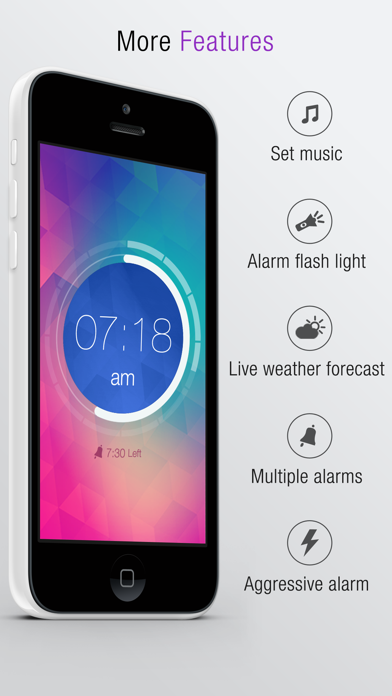 Gesture Alarm Clock for Windows