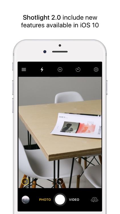 Shotlight - Manual Photo/Video Camera