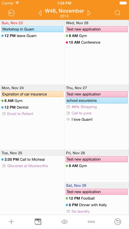 Awesome Calendar - Personal Planner app image