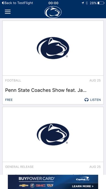 Penn State Sports Gameday LIVE screenshot-4