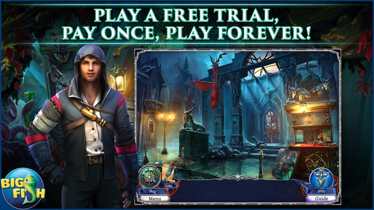 Grim Legends: The Dark City - Hidden Object Game screenshot-0