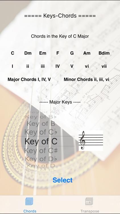 Keys-Chords