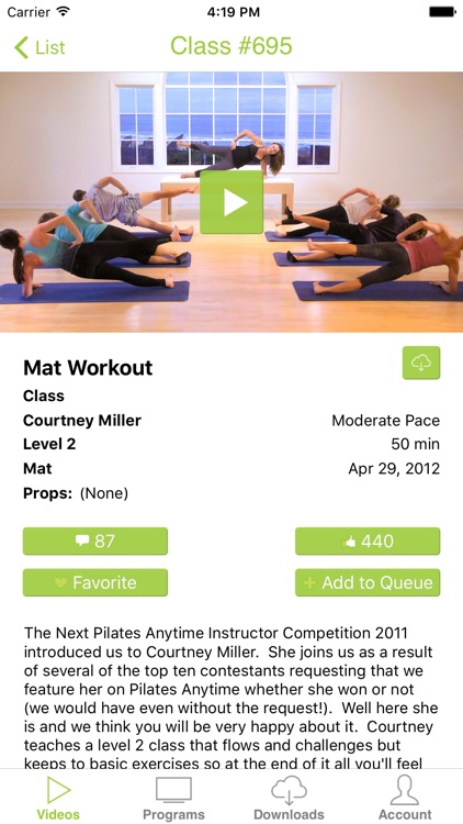 Pilates Anytime screenshot-0