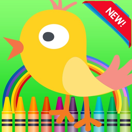 Color ME - Coloring Book Pages Fun For Kids&Adults iOS App