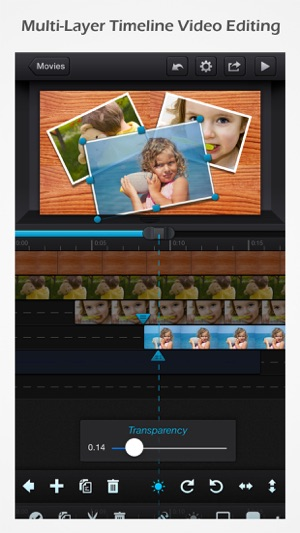 無料動画アプリ⑨:Cute CUT - 全機能動画編集