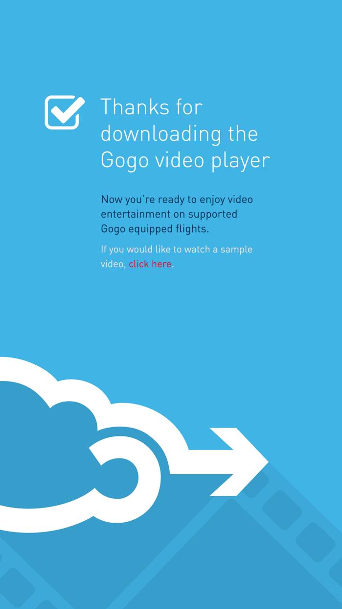 Gogo Entertainment Screenshot