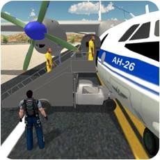 Activities of Jail criminal transport plane - flight mission