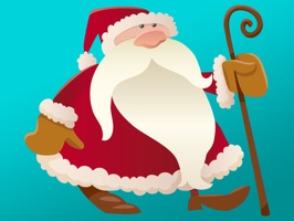 The world's largest Christmas Santa Sticker for iMessage is here