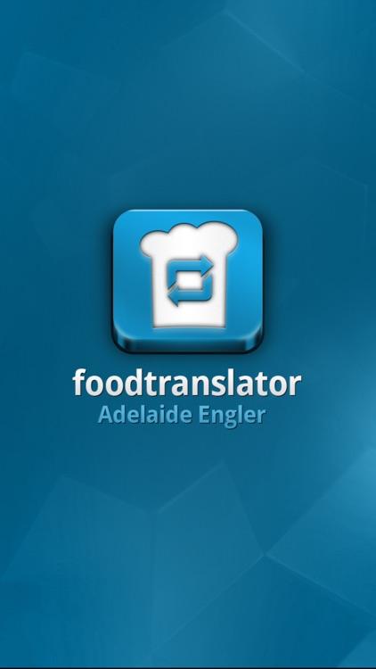 foodtranslator by Adelaide Engler