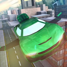 Free Sports Flying Car Simulation
