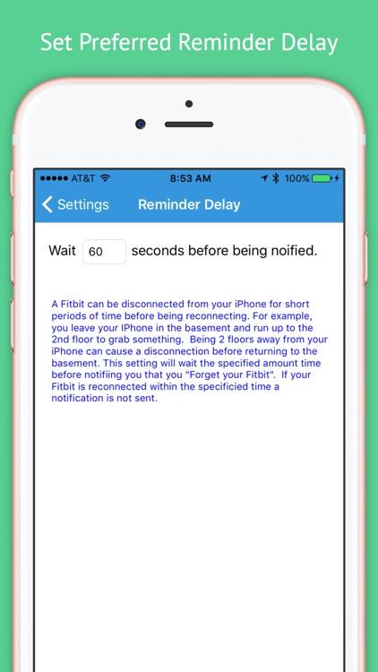 Forgot My Fitbit -Track Fitbit screenshot-3