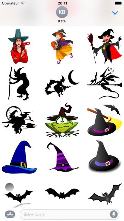 Halloween • 140 stickers for iMessage screenshot-3