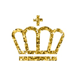 Golden Crown Stickers for iMessage